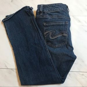 White House Black Market Crop Jeans